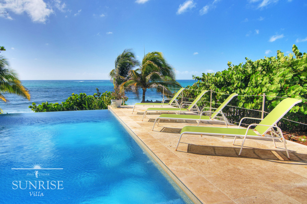 Sunrise Villa Grenada Pool